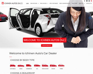 Inchinen Autos - Dealership, Ecommerce