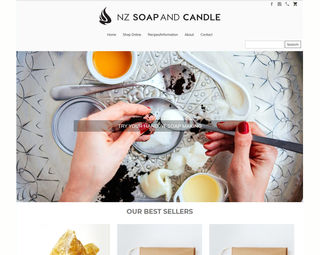 NZ Soap and Candle - Ecommerce Store