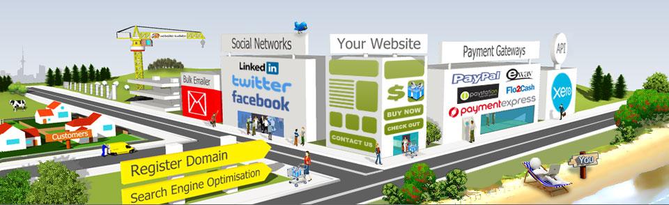 free website builder free shopping cart create an